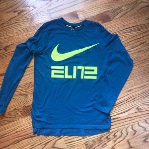 Boys Nike Elite L/S shirt (large)